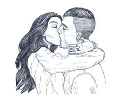 Kiss - Série de portraits & émotions