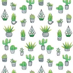 Motif de plantes pour de la papeterie